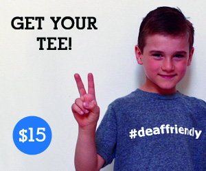 deaffriendly youth tee