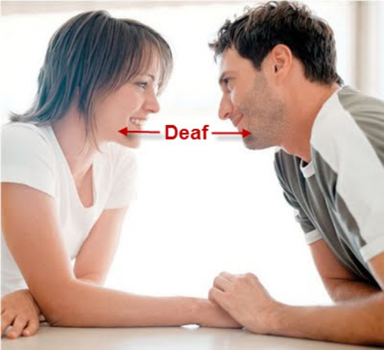 How is dating a deaf girl