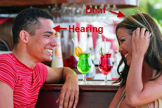 deaf and hearing relationship