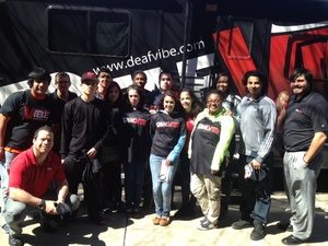 DeafVibe Staff and Student Photo